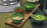 hardwood serving platter