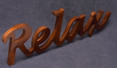 Relax_lucida-font_RedCedar-stained-Pine