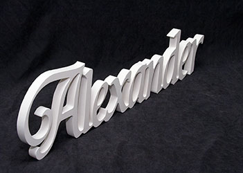 Wooden Letters Words
