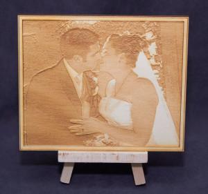Laser-engraved-wooden-photo