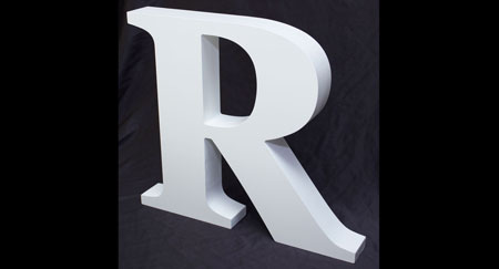 Thick Wooden MDF Letters